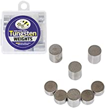 Tungsten Incremental Weights, 3 oz. Tungsten Rods Total, Multiple Cylinder Sizes to Optimize Your Pinewood Car for Speed in Your Derby