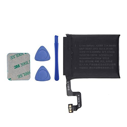 Vvsialeek A2058 Batería compatible para Watch Series 4 iWatch4 S4 40 mm GPS + LTE Cellular versión A2058 con kit de herramientas