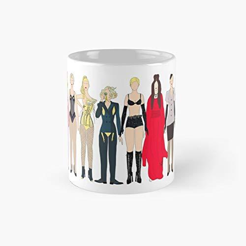 Trajes de Madge Fashion Classic Mug | El mejor regalo divertido tazas...