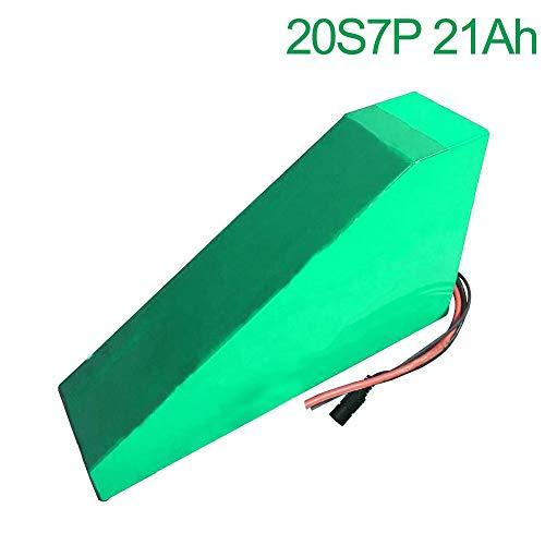 Seilylanka 72 V 21 Ah 20 S 7 P Li-Ion Akku elektrische Zwei dreirädrige Motorrad Fahrrad ebike 350 * 305 * 210 * 90 * 70 * 50mm