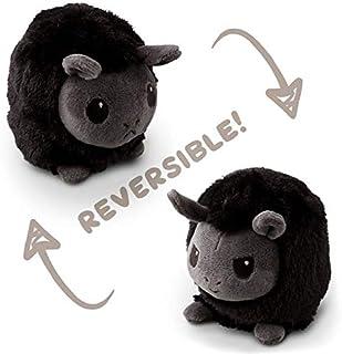 TeeTurtle Reversible Llama Mini - Black/Gray Plush Toys