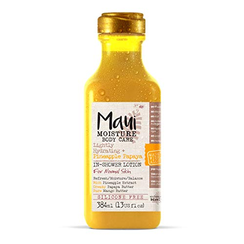 Maui Moisture Body In-Shower Lotion - Pineapple Papaya, 384 ml