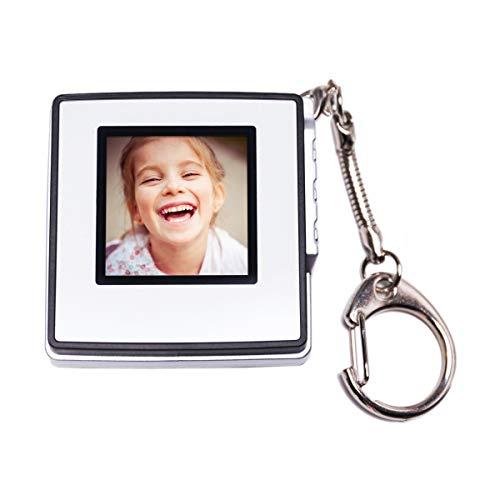 Kosee Digitaler Bilderrahmen 1.5 Zoll DI-15 Elektronischer Fotorahmen Foto Schlüsselanhänger