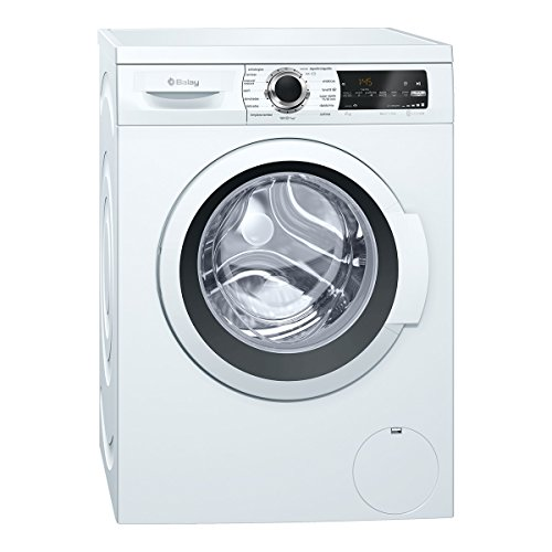 Balay 3TS984BT Independiente Carga frontal 8kg 1000RPM A+++ Blanco - Lavadora (Independiente, Carga frontal, Blanco, Izquierda, LED, 58 L)