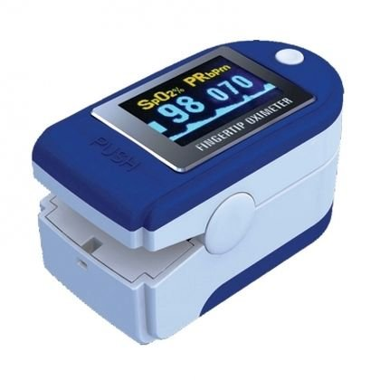 Pulsiossimetro da dito INTERMED SAT-200 portatile con display orientabile a colori - Dispositivo medico conforme alla Normativa CEE 93/42