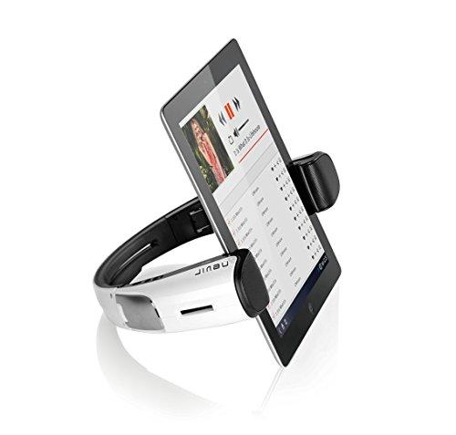 Nevir NVR-826 - Altavoces Bluetooth con Soporte para Tablets Blancos