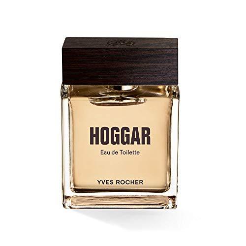 Yves Rocher HOGGAR Eau de Toilette, orientalisches & holziges Parfüm für Herren, Valentinstag Geschenkidee für Männer, 1 x Zerstäuber 50 ml