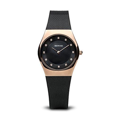 BERING Damen Analog Quarz Uhr mit Edelstahl Armband 11927-166