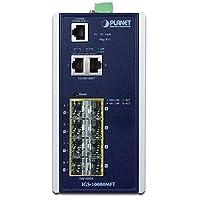 【国内正規品】IGS-10080MFT 工業用8 ポート 100/1000X SFP + 2 ポート 10/100/1000T マネージドスイッチ(-40 ~ 75℃)