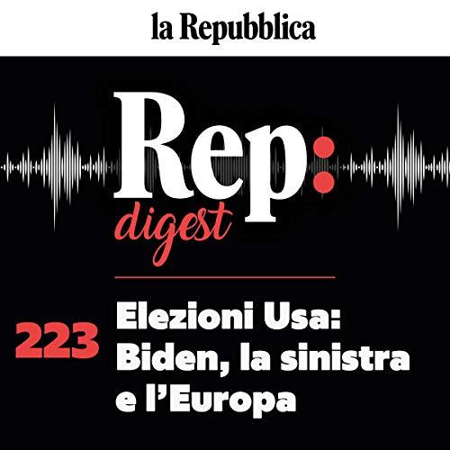 Elezioni Usa, Biden la sinistra e l'Europa cover art