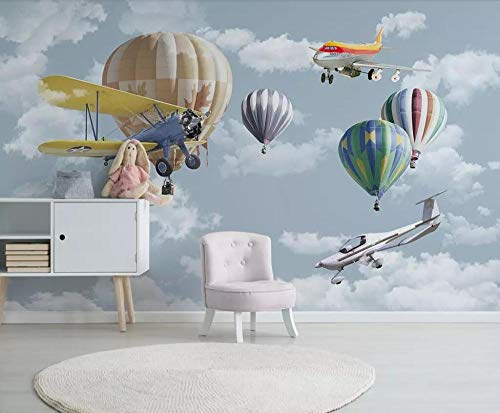 Fondo De Pantalla De La Foto Globo Aerostático 150x105 cm No Tejido Premium Art Print Fleece Mural De Pared Decoración Póster Diseño De Imagen Paisaje Natural Moderno