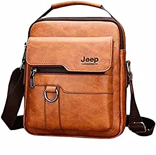 Jeep Leather Cross Bag For Men - 2725448669883