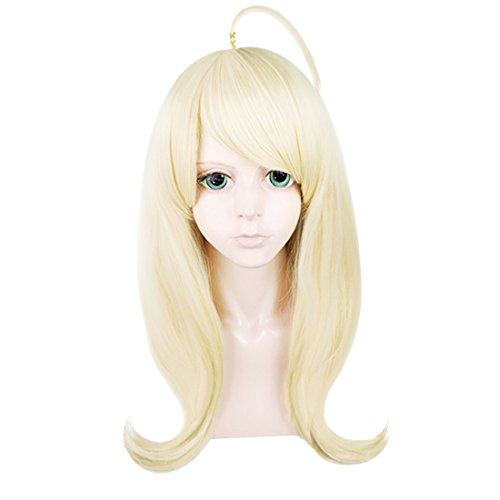 C-ZOFEK Akamatsu Kaede Cosplay Long Wig (Golden)