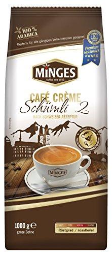 Minges Schweizer Schümli II Kaffee Bohnen 8kg (8x1kg)