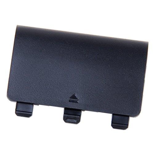 Generic Akku Batterie Deckel Cover Batterieabdeckung für XBox One Wireless Controller - Schwarz