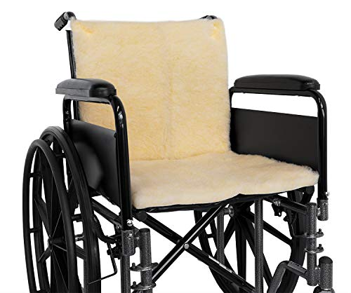 NYOrtho Sheepskin Wheelchair Seat & Backrest Pads
