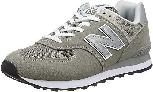 New Balance 574 Core Zapatillas Hombre, Gris (Grey EGG), 43 EU (9 UK)