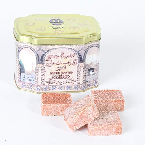 Orientalische Duftsteine Amber Musk Jamid 250 g von Hemani | Langanhaltender Duft | Raumerfrischer | W1020