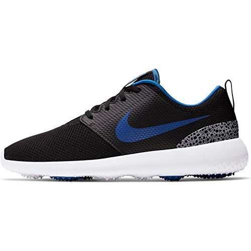 Nike Herren Roshe G Golfschuhe, Mehrfarbig (Black/Game Royal/White/Cement Grey 000), 40.5 EU