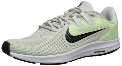 Nike Downshifter 9, Zapatillas de Trail Running para Mujer, Verde (Spruce Aura/Black/Barely Volt/White 9), 40 EU
