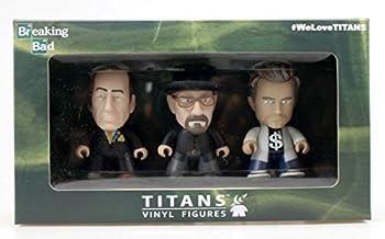 Titans Breaking Bad 3 Three Pack  Walter Jesse & Saul