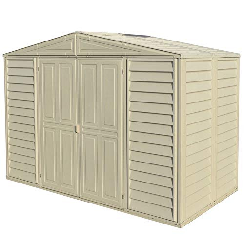 Duramax Woodbridge 10.5 x 5 Shed with Foundation Kit