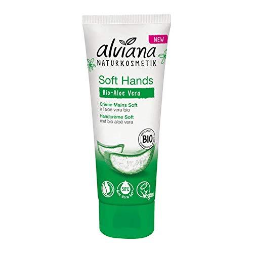 Soft-Handcreme mit Bio-Aloe Vera 75ml Alviana