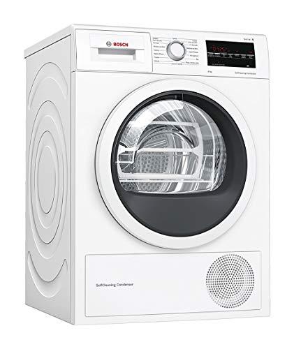 Bosch Elettrodomestici Asciugatrice Serie 6 WTW85448IT da 8 kg Anti-Vibrazioni con Efficienza Energetica A++