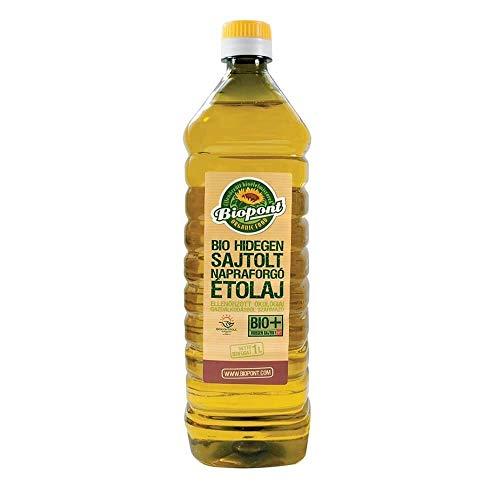 Olio di girasole deodorato BIO 1 l (pet) - Biopont