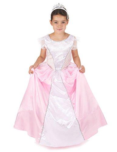 Déguisement princesse fille rose et blanc 10 - 12 ans (L)