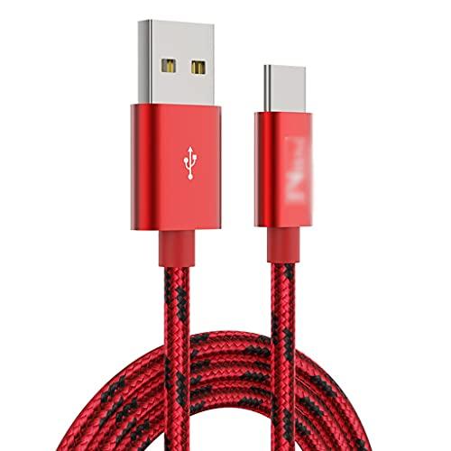 LLRZ Conectores Cable USB USB C Cables de Cargador Cable de Carga...
