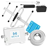 Home Cell Phone Signal Booster AT&T 4G LTE T-Mobile US Cellular Band12/17 FDD ATT Cell Signal Booster AT&T Cell Phone Booster Cell Extender Signal Amplifier Boost Voice+Data