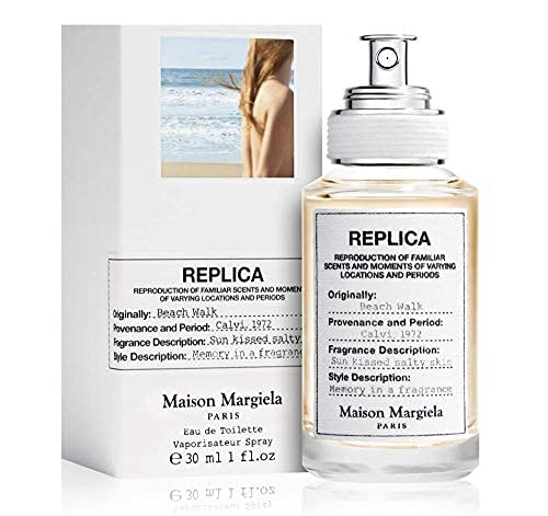 100% auténtico Maison Margiela Replica Beach Walk 30ml edt + 3 muestras de nicho - Gratis