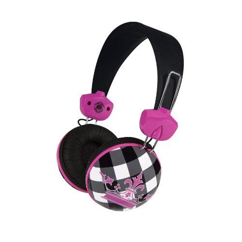 Merkury MB-HL2CB Audio-Bügelkopfhöhrer für MP3 / MP4-Player (Schachbrettmuster)