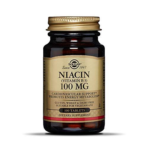 Niacin 100mg 100 Tabletten (vegan) SO