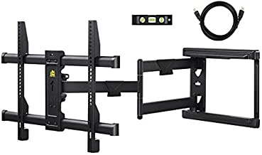 FORGING MOUNT Long Extension TV Mount Corner Wall Mount TV Bracket Full Motion with 30 inch Long Arm for Corner/Flat Installation fits 32 to 70