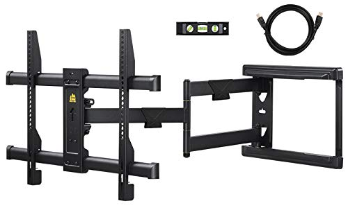 FORGING MOUNT Long Extension TV Mount Corner Wall Mount TV Bracket Full Motion with 30 inch Long Arm for Corner/Flat Installation fits 32 to 70quot Flat/Curve TVs VESA 600x400mm Holds up to 99lbs