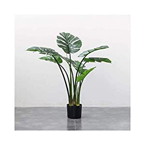 CDSLQ Artificial Realistic Large-Scale Traveler Banana Fake Flower Tree, Maintenance Simple Simulation Plastic Green Plant Home Decoration Accessories 0701 (Size : L) (Size : Large)