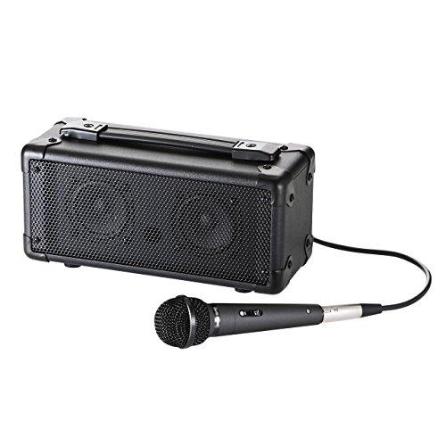 サンワサプライ マイク付き拡声器スピーカー(Bluetooth対応) MM-SPAMPBT