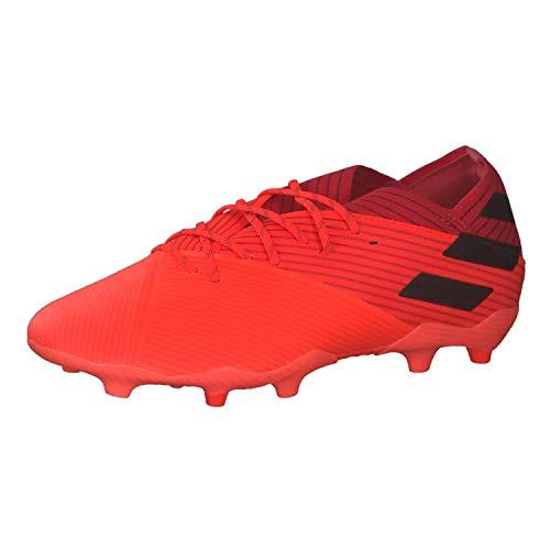 adidas Nemeziz 19.1 FG J, Zapatillas de fútbol, CORSEN/NEGBÁS/ROJGLO, 30 EU