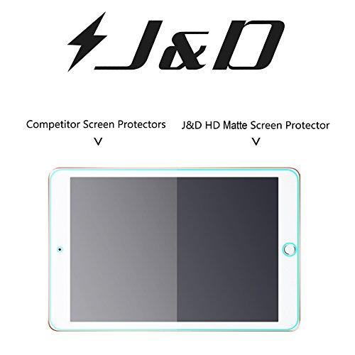 J&D Kompatibel für 3er Packung iPad 9.7 inch 2018 Displayschutzfolie, [Antireflektierend] [Nicht Ganze Deckung] Hochwertige Matte Folie Schutzschild Displayschutzfolie für iPad 9.7 inch 2018