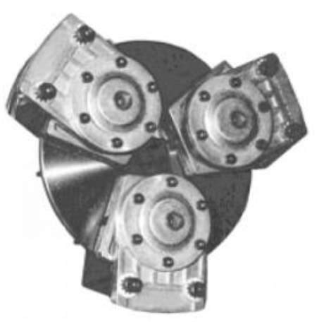 TCB-07 Tension Control Brake - Open Design, Air Engaged, Release Spring, Straight Bore Type, 1.1250 in Bore