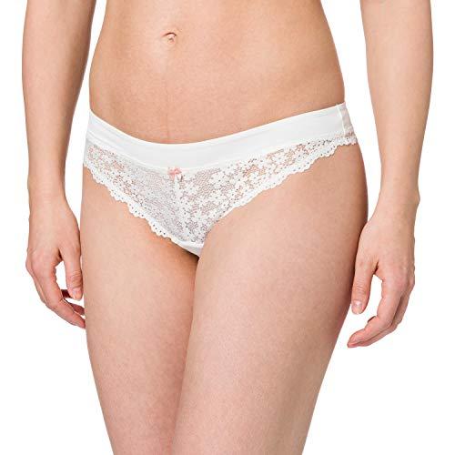 ESPRIT Bodywear Damen DACKOTA 1 PAR Brazilian Hipster String, Off White (110), 40