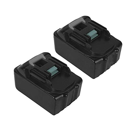 2Pack 4000mAh BL1840B 18V Battery for Makita Lithium ion Replacement Battery LXT-400 BL1830B BL1840 BL1850B BL1860 18-Volt Cordless Power Tools Batteries