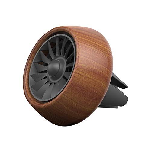 dljztrade Auto Essentiële Olie Diffuser,Wood Auto Vent Freshener Parfum Aroma Clip Decor