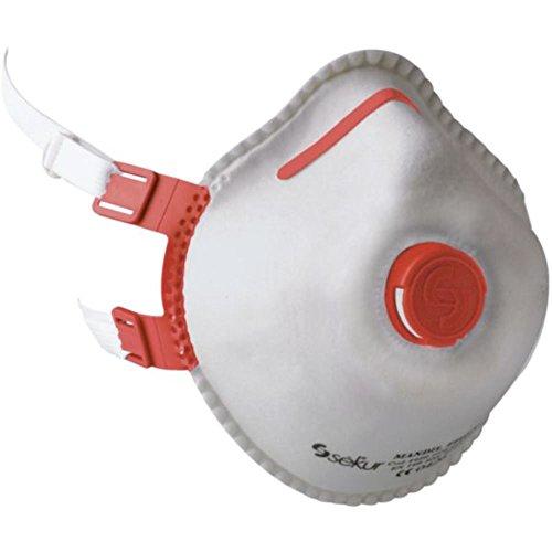 Maschera Antipolvere mandil FFP 3/COMBI/V, con valvola (