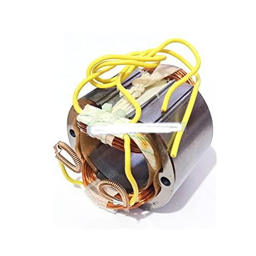 PUGONGYING Popular AC220-240V Motor de Anclaje de Rotor de Armadura Reemplazar Ajuste para makita HM0810 HM0810B HM0810T HM 0810 7 Dientes de Martillo Giratorio eléctrico Durable (Color : Stator)