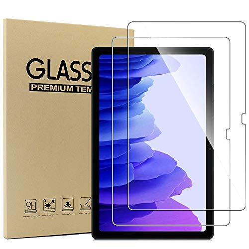 Ash-case Cristal Templado Protector Pantalla para Samsung Galaxy Tab A7 10.4''Inches 2020,...