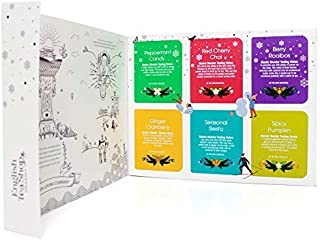 English Tea Shop Premium Holiday Collection Auswahl an Bio-Tee und Kräutertees mit festlichen Aromen Made in Sri Lanka - 1 x 48 Teebeutel 72 Gramm