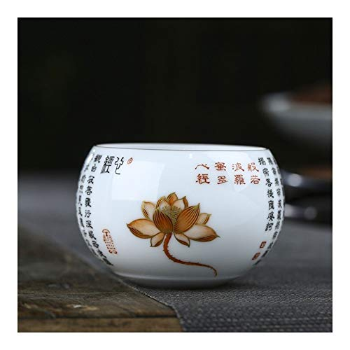 Bin Zhang - Taza de cerámica fina de cerámica con forma de corazón manuscrito a mano, cerámica, 101-200ml